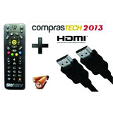 Kit Zapper/slim 1 Cabo Hdmi E 1 Controle Zapper/slim Hd