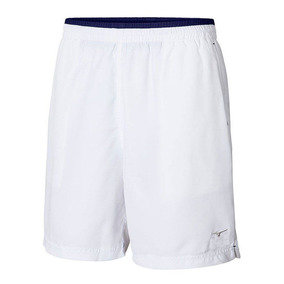 Bermuda Mizuno Tennis Master Masculina Branca
