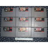Super Nintendo Trilogia Street Figther 2 Snes