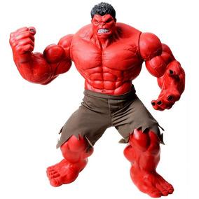 Boneco Hulk Vermelho Premium Gigante 55 Cm - Mimo Brinquedos