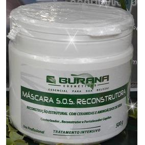 Burana Cosmeticos Mascara Hidratação S.o.s Resconstrutora