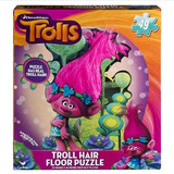 Trolls Hair Floor Puzzle