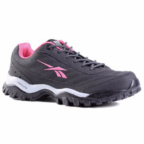 Zapatillas Reebok Outdoor Cross City Mujer Negro C/rosa