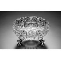 Bowl Fruteira Saladeira Rendado Cristal Star 11cm R 2939
