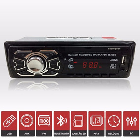 Radio Automotivo Mp3 Com Bluetooth Usb Sd Fm Aux - Puma Gtb