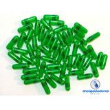 Capsulas Verde Traslucido #0, 1 Millar