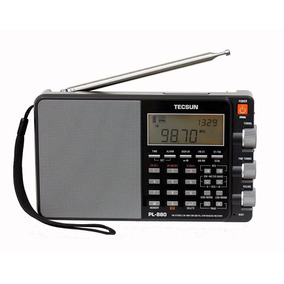 Tecsun Pl880 Onda Corta,sw,mw,air Band, Shortwave Radio