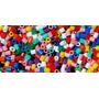 80 Anilhas Plásticas Abertas Para Canários Do Reino Belga