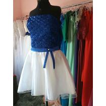 Vestido Para Debutante Ou Damas Curto Locação R$ 80,00
