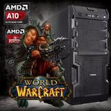 Cpu Gamer Amd A10 Ram 8gb Disco 1tb Video R7 250 1gb Ddr5