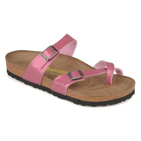Sandália Birkenstock - Modelo Mayari Rosa Melhor Preço