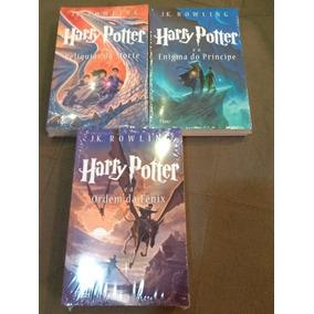 3 Livros Harry Potter Livro