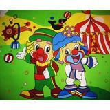 Painel Para Festa *palhaços R$ 69,98 - 2,00x1,40mt