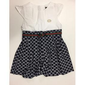 Vestido De Festa Infantil Criança Marca Gucci Importado