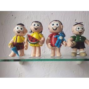 Turma Da Mônica Boneca De Biscuit 10 Cm
