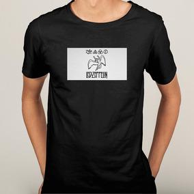 Camisa Camiseta Led Zeppelin Banda Rock - 6 Cores 3b146ef6a6d53