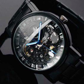 Reloj Winner Skeleton Metálico Automático Envío Gratuito!!