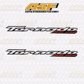 Sticker Calcomania Vinil - Emblema Tornado 250 Honda