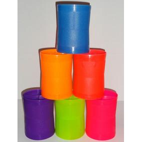 Linha De Pipa Porta/cone/lata/média Fluorescente Pacote C/12