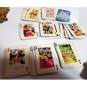 Sailor Moon Cartas Tipo Poker 51 De 54 Años 90s