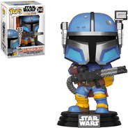 Boneco Funko Pop Star Wars: Heavy Infantry Mandalorian 348