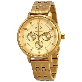 Reloj Armani Exchange Dama Original Tono Oro Payton Ax5377