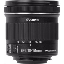 Lente Canon Ef-s 10-18mm F/4.5-5.6 Is Stm Zoom G Angular