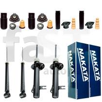 4 Amortecedores Nakata + Kits Ford Fiesta 2003/2014