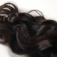 Mega Hair 100g Elastico Azul 75cm
