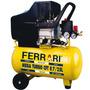 Compressor De Ar Mega Turbo Ferrari Cft-8.7/25l Bivolt 1500w