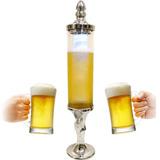 Torre Chopp Cerveja Gelada 2,5l Resfriador Interno Iluminado