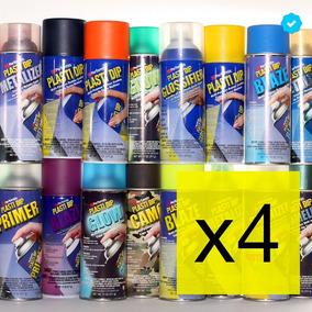 Plastidip Aerosol Envío Gratis Pack X 4 - Todos Los Colores