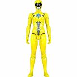 Boneco Power Rangers O Filme Amarelo Sunny Brinquedos