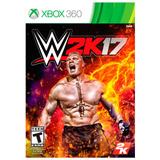 Juego Xbox 360 2k Games Wwe 2k17