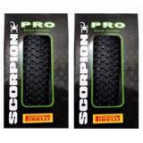 2 Pneu Pirelli Scorpion Pro 29x2.20 Kevlar Bike Mtb 45 Psi