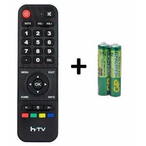 Controle Remoto Para Htv 3 Box Iptv Android Tv Htv3 E 5
