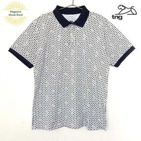 Camisa Polo Masculina Tng Mini Estampa De Caveiras