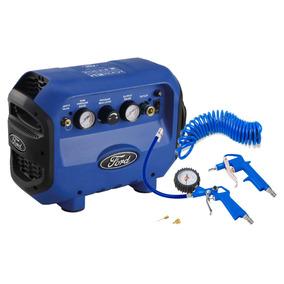Compresor De Aire Mini + Kit Ford Tools Fpw1007kit