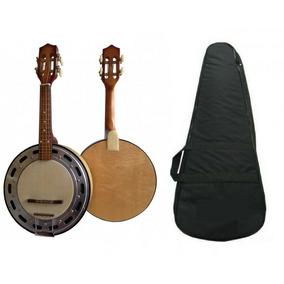 Banjo Elétrico Profissional Linha Clave Profissional + Capa