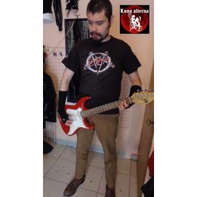 Ropa Rockera, Playera Slayer, Saldo Metal. Luna Alterna Shop
