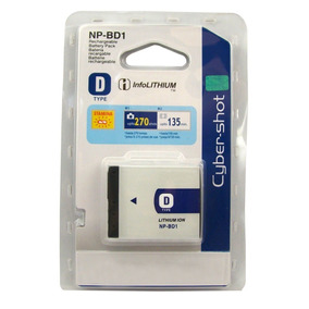 Bateria Sony Original Np-bd1 Cameras T2,t200,t300, T7