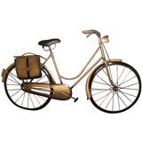 Quadro Bicicleta 3d Para Parede Em Metal Decoracao