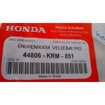 Engrenagem Pinhao Velocímetro Cg150 04 Ate 08 Marcio Motos