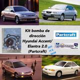 Kit Bomba Dirección Hyundai Accent 96/06 Elantra 2.0
