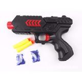 Pistola Arma De Brinquedo Lança Dardos E Bolinhas De Gel