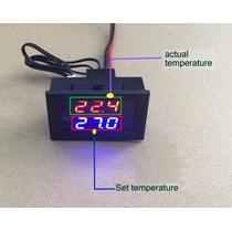 2 Termostato Digital 12v C/rele 5a 120vcd Peceras, Incubador