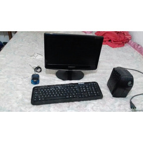 Pc ( Monitor 60hz, Teclado, Mouse, Estabilizador, Cabos)