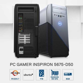 Pc Gamer Dell 5675-d50 Amd R7 8gb 1tb Rx570 4gb Linux