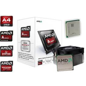 Procesador Amd Apu / A4 7300 / Fm2 / Gaming Nuevo!!!