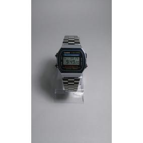 Reloj Casio Vintage Acero Plateado Hombre